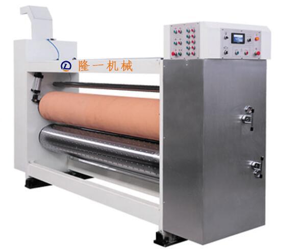 高速水墨印刷开槽模切机(前缘送纸)